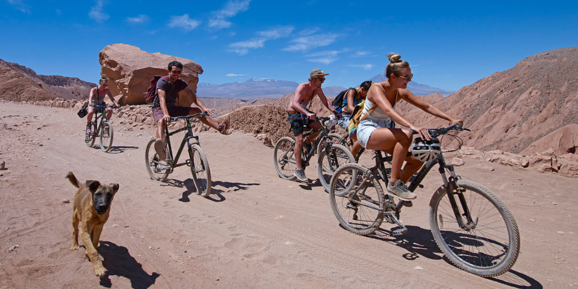 Bike through the atacama desert